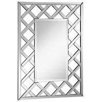 Modern 40 X 29 inch Clear Mirror Home Decor, Rectangle