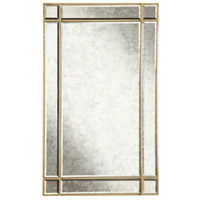 Elegant Lighting Florentine 36-in. Rectangular Mirror in Gold and Antique Mirror MR1-1001GA