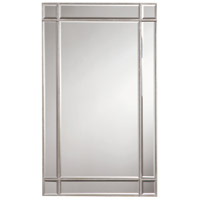 Florentine 36 X 22 inch Silver and Clear Mirror Wall Mirror Home Decor