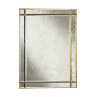 Elegant Lighting Florentine 40-in. Rectangular Mirror in Gold and Antique Mirror MR1-1002GA