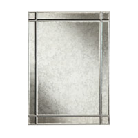 Elegant Lighting Florentine 40-in. Rectangular Mirror in Silver and Antique Mirror MR1-1002SA