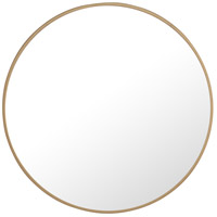 Elegant Lighting MR4032BR Eternity 24 X 24 inch Brass Wall Mirror