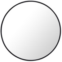 Elegant Lighting MR4034BK Eternity 28 X 28 inch Black Wall Mirror