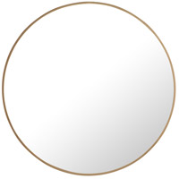 Elegant Lighting MR4035BR Eternity 28 X 28 inch Brass Wall Mirror
