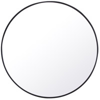 Elegant Lighting MR4044BK Eternity 42 X 42 inch Black Wall Mirror