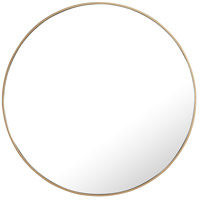 Elegant Lighting MR4045BR Eternity 42 X 42 inch Brass Wall Mirror