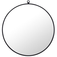 Elegant Lighting MR4051BK Eternity 24 X 24 inch Black Wall Mirror