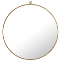 Elegant Lighting MR4052BR Eternity 24 X 24 inch Brass Wall Mirror
