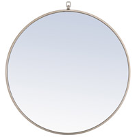 Elegant Lighting MR4056S Eternity 28 X 28 inch Silver Wall Mirror