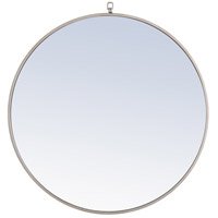 Elegant Lighting MR4059S Eternity 32 X 32 inch Silver Wall Mirror