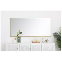 Elegant Lighting MR43060BR Eternity 60 X 30 inch Brass Wall Mirror alternative photo thumbnail