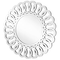 Elegant Lighting MR9126 Sparkle 39 X 39 inch Clear Wall Mirror Home Decor