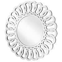 Elegant Lighting MR9127 Sparkle 32 X 32 inch Clear Wall Mirror Home Decor