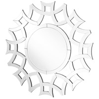 Elegant Lighting MR9142 Sparkle 40 X 40 inch Clear Wall Mirror Home Decor