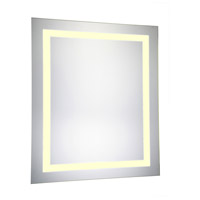 Nova 30 X 20 inch Lighted Wall Mirror in 3000K, Dimmable, 3000K, Rectangle, Fog Free