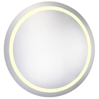 Elegant Lighting MRE-6015 Nova 30 X 30 inch Lighted Wall Mirror in 3000K, Dimmable, 3000K, Round, Fog Free