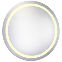 Elegant Lighting MRE-6016 Nova 36 X 36 inch Lighted Wall Mirror in 3000K, Dimmable, 3000K, Round, Fog Free