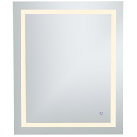 Helios 36 X 30 inch Silver Lighted Wall Mirror