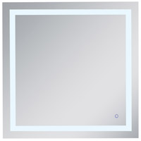 Helios 36 X 36 inch Silver Lighted Wall Mirror