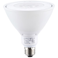 Elitco Lighting by Elegant Lighting LED PAR38 Reflector 22 Watt 120V E26 Bulb 3000K in White, Dim-Driver, 90 Watt Equivalent, 35, 1500 Lumens, 80 CRI, P38COB-22-D-30-35