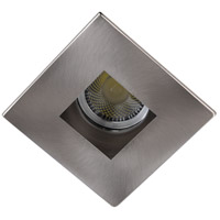 Elitco Recessed by Elegant Lighting 3-in. Brushed Nickel Square Aperture with Brushed Nickel Square Trim Ring R3-555BN