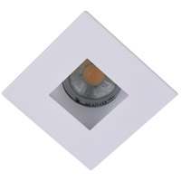 Elitco Recessed by Elegant Lighting 3-in. Matte White Square Aperture with Matte White Square Trim Ring R3-555MW