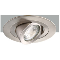 Elitco Recessed by Elegant Lighting 4-in. Brushed Nickel 35 Degree Adjustable Spot 50W MR16 R4-488BN