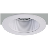Elitco Recessed by Elegant Lighting 4-in. Matte White Trim with Matte White Baffle Trim 50W MR16 R4-493MW