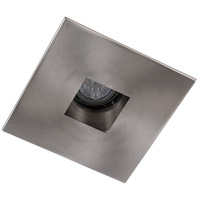 Elitco Recessed by Elegant Lighting 4-in. Brushed Nickel Square Aperture with Brushed Nickel Square Trim Ring R4-555BN