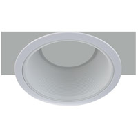 Elitco Recessed by Elegant Lighting 6-in. Line Voltage R30 White Baffle Trim REM30WH