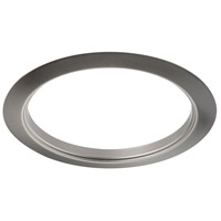 Elitco Brushed Nickel Recessed Trim Ring, 6-inch