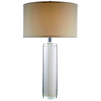 Elegant Lighting TL1002 Regina 29 inch 40 watt Chrome Table Lamp Portable Light, Urban Classic