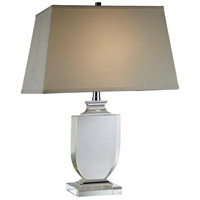 Elegant Lighting TL1006 Regina 25 inch 40 watt Chrome Table Lamp Portable Light, Urban Classic