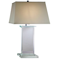 Elegant Lighting TL1008 Regina 28 inch 40 watt Chrome Table Lamp Portable Light, Urban Classic