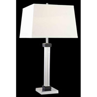Elegant Lighting Grace 1 Light Table Lamp in Chrome TL103