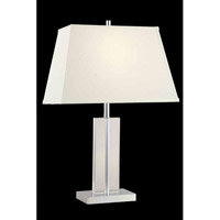 Elegant Lighting Grace 1 Light Table Lamp in Chrome TL106