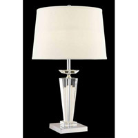 Elegant Lighting Grace 1 Light Table Lamp in Chrome TL114