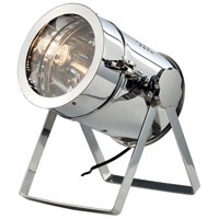 Urban Classic by Elegant Lighting Industrial 1 Light Table Lamp in Chrome TL1250