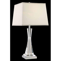Elegant Lighting Grace 1 Light Table Lamp in Chrome TL126