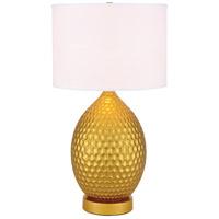 Elegant Lighting TL3021G Miel 29 inch 40 watt Gold Table Lamp Portable Light