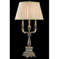 Elegant Lighting Belmont 1 Light Floor Lamp in Antique Copper TL3024