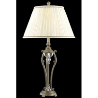 Elegant Lighting Belmont 1 Light Table Lamp in Antique Copper TL3029