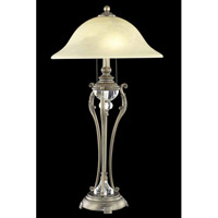 Elegant Lighting Belmont 1 Light Table Lamp in Antique Copper TL3031