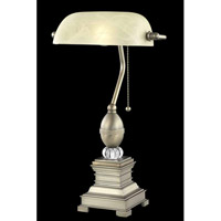 Elegant Lighting Belmont 1 Light Table Lamp in Antique Copper TL3032