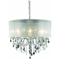 St. Francis 8 Light 26 inch Chrome Chandelier Ceiling Light