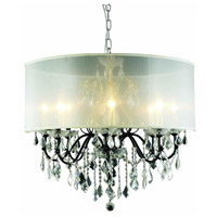 St. Francis 8 Light 26 inch Dark Bronze Chandelier Ceiling Light