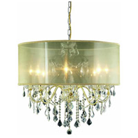 St. Francis 8 Light 26 inch Gold Chandelier Ceiling Light