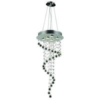 Elegant Lighting V2028G36C/SS Galaxy 5 Light 16 inch Chrome Chandelier Ceiling Light