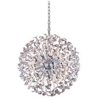 Elegant Lighting V2068G54C/EC Tiffany 45 Light 54 inch Chrome Foyer Pendant Ceiling Light