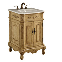 Singature Antique Beige Vanity Cabinet